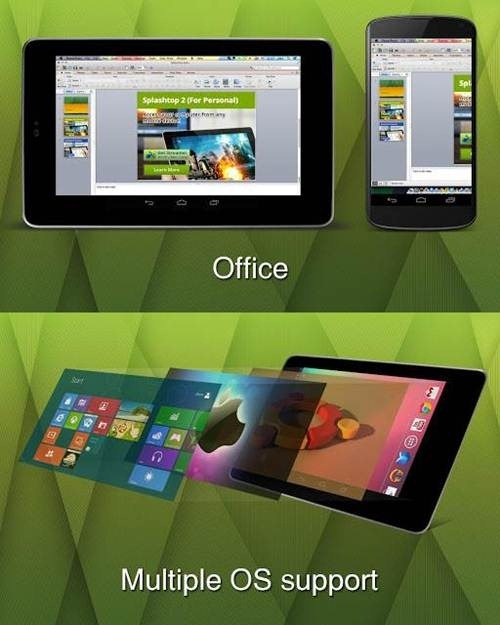 Splashtop 2 apps- 5 Great Remote Desktop Access Apps for Android