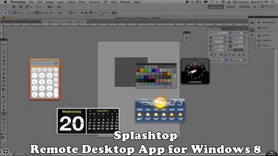 Splashtop - Remote Desktop App for Windows 8