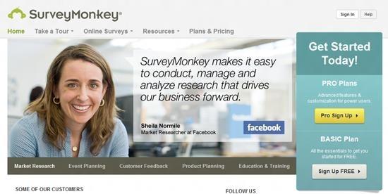 SurveyMonkey Survey software : Top 15 online survey software and questionnaire
