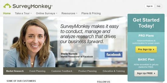 SurveyMonkey Survey software : Top 15 online survey software and questionnaire