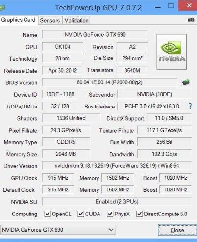 TechPowerUP GPU-Z - Video card GPU Information Utility