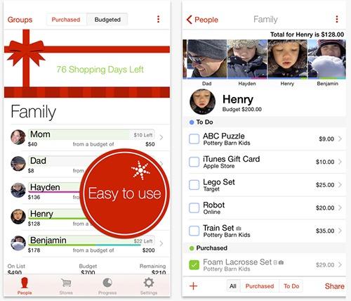 The-Christmas-List-App