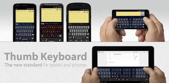 Thumb Keyboard for android 2