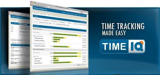 TimeIQ time tracking tool