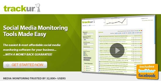 Trackur Social Media Monitoring