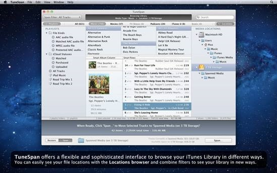 TuneSpan - Manage iTunes media Library on multiple drives (2)