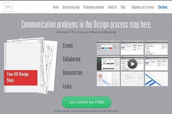 UXPin 5 Tools for Collaborative Web Design