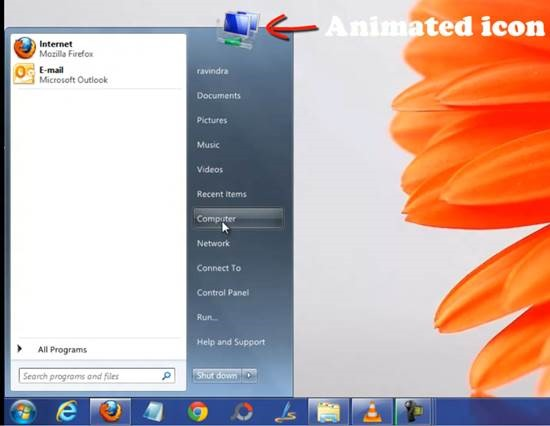 ViStart 6 How to install Window 7 start menu Orb in Windows 8 release preview