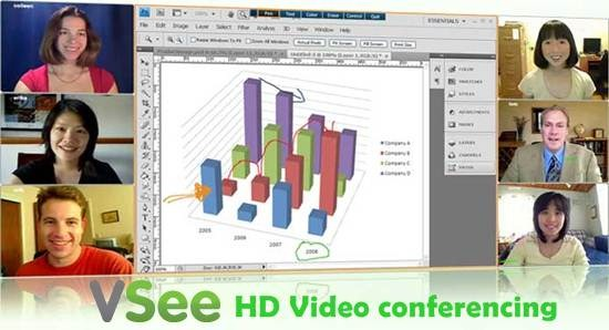 VSee - HD Video conferencing and video Collaboration tool