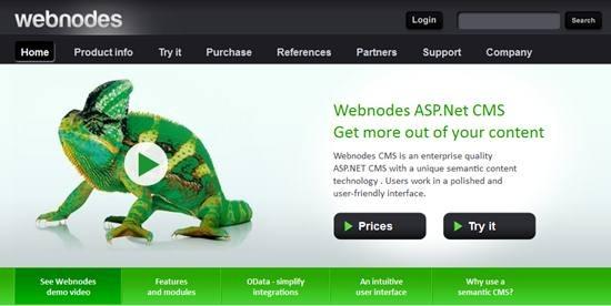 Webnodes ASP.net based semantic web CMS