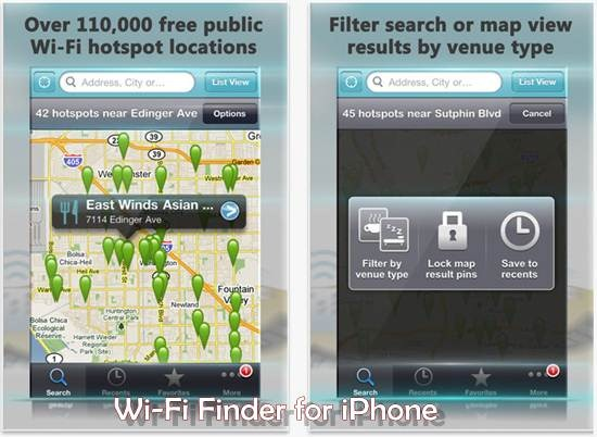 Free Wi-Fi Finder for iPhone 5 Best wifi apps for iPhone