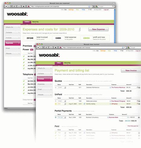 Woosabi web based crm