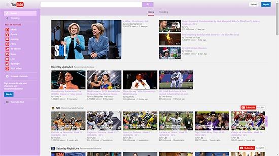 Youtube-Purple-Theme