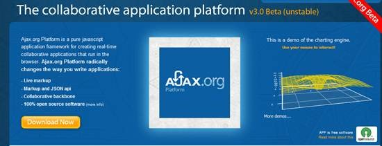 Ajax.org - open source Application Platform for Building real-time collaborative apps