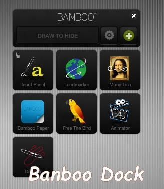 Bamboo Dock - Application Dock for Windows