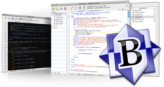 bbedit Text editor for MAC os x