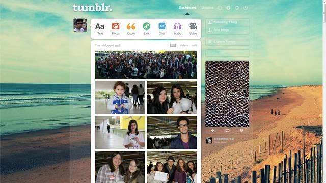 beach 49 Useful Tumblr dashboard theme for Tumblr User