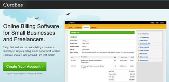 curdbee online billing software