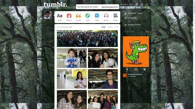dark forest canopy theme 49 Useful Tumblr dashboard theme for Tumblr User