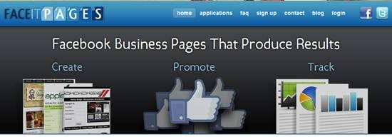 faceitpages 13 useful Custom Facebook Fan page builder