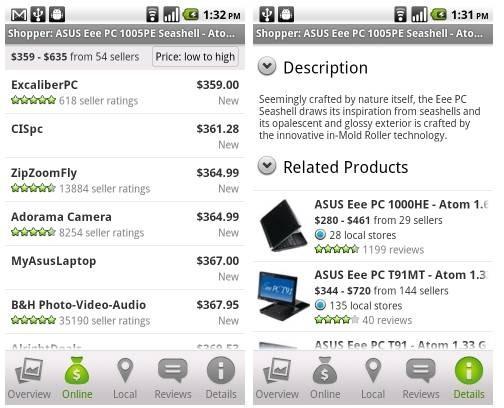 Google shopper 18 free Mobile Shopping Apps for smartphone