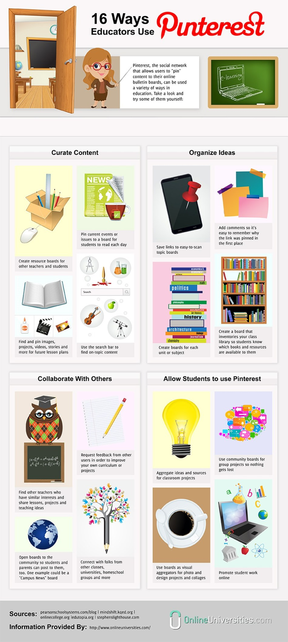 how educators use pinterest 16 Ways How Educators Use Pinterest [Infographic]