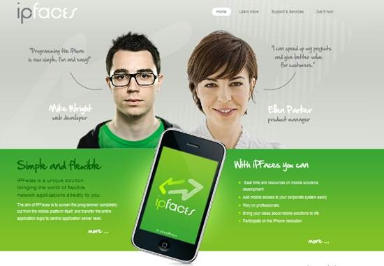 iPFaces - Mobile Apps framework