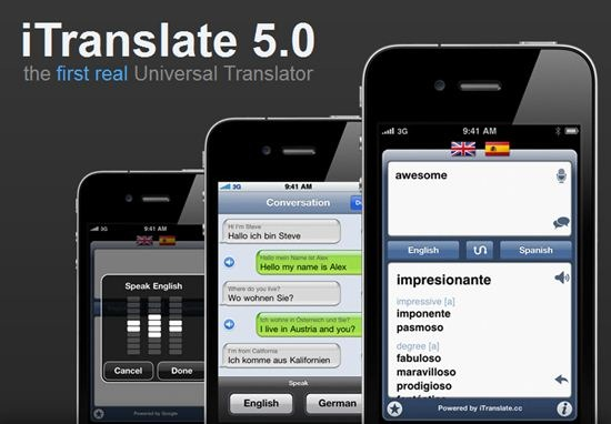 iTranslate for iPhone