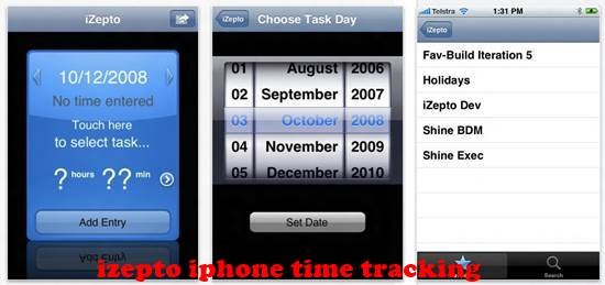 izepto 8 best iPhone Apps for Tracking Time on Projects