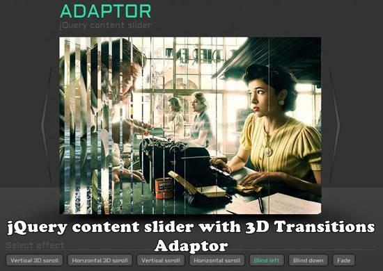 jQuery image slider Adaptor