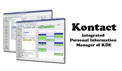 kontact 10 useful personal information manager (free pim software)
