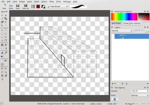 Krita Open source bitmap editing and drawing application