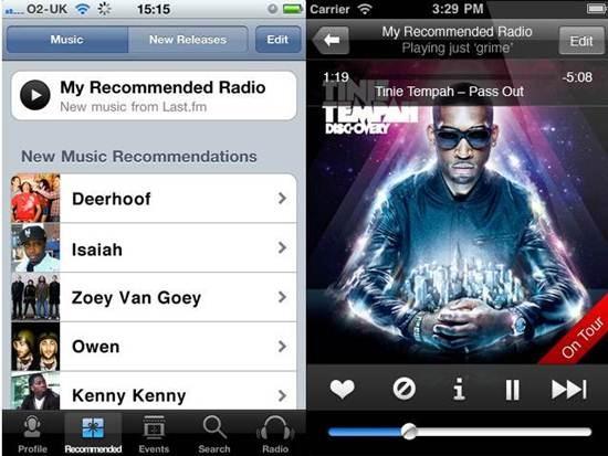 last-fm Radio Apps for iPhone