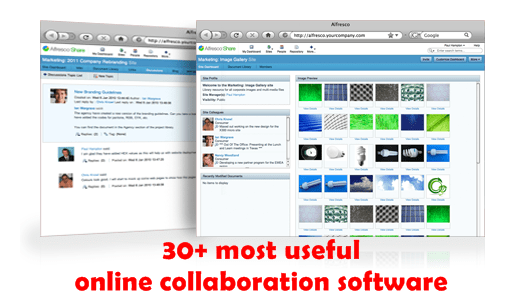 30+ most useful online collaboration software