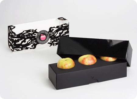 Apple fruit packaging design