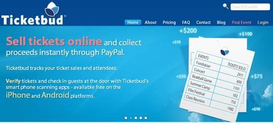 ticketbud onlie ticketing