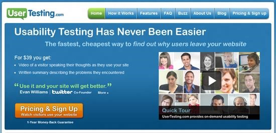 usertesting Usability Testing : 13 most useful and simple Usability Testing software