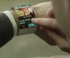 samsung flexible oled watch