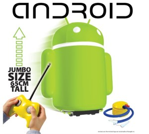 inflatable Android