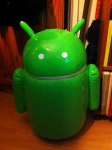 remote controlled android
