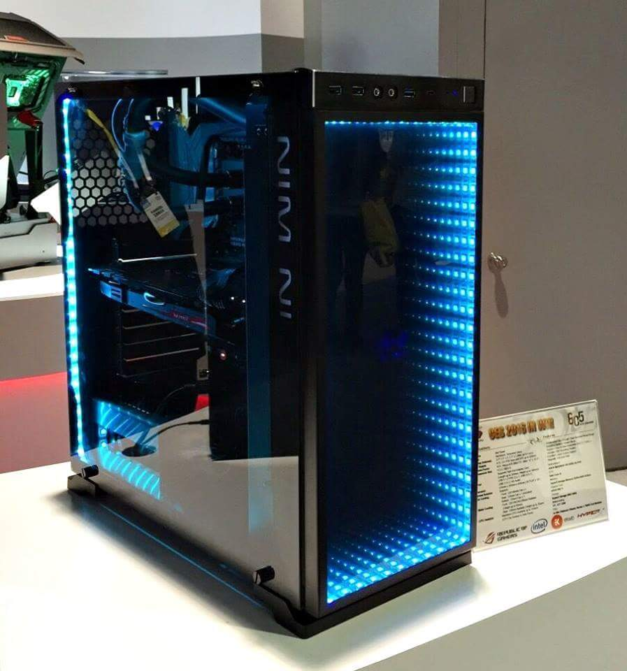 In Win 605 Pc Case Packs Infinity Mirror Coolness