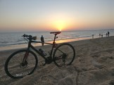 Sunset at mandavi beach