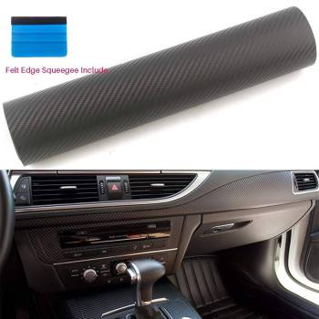 5b7d24d0c0bc1f3fcddc1a31 9 larg 3D Black Carbon Fiber Film For Car