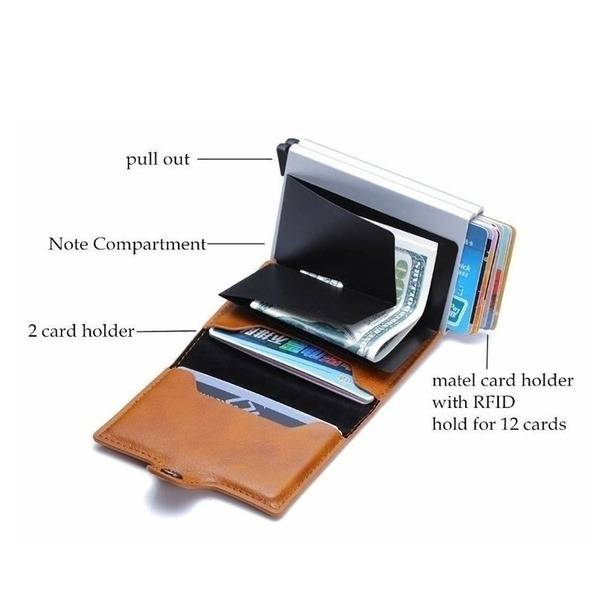 5bed0154919daa3467beb920 3 larg Leather Slim Money Clip And Cardholder
