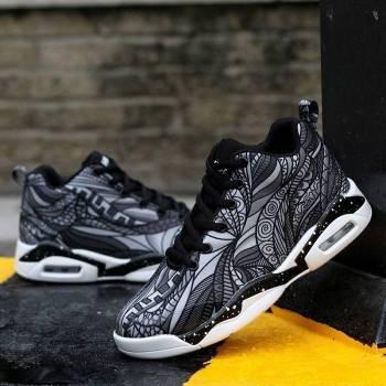 5c4a0494477b8716b3402f67 4 larg Men/ Women Air Cushion Basketball Shoes Running Tennis Shoes Fashion Sneaker