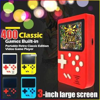 400 Video Game RETRO-FC Game Console