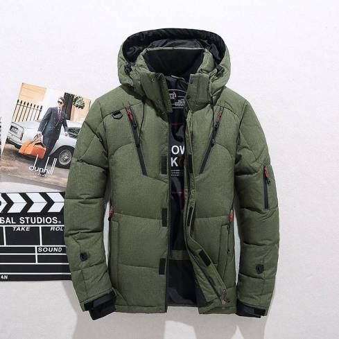 5XL-XS Beautiful Outerwear Hooded Snow Jacket
