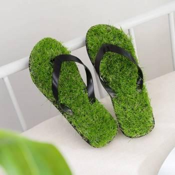 Grass Flip Flops   Flip-Flops