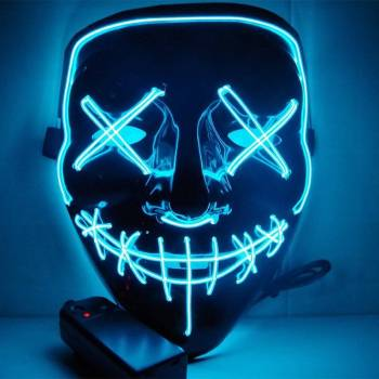 HTB135jRaRv0gK0jSZKbq6zK2FXak Halloween Party Led Mask  - Super Cool  Halloween Accessories
