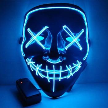HTB1i36RaKL2gK0jSZFmq6A7iXXaA Halloween Party Led Mask  - Super Cool  Halloween Accessories